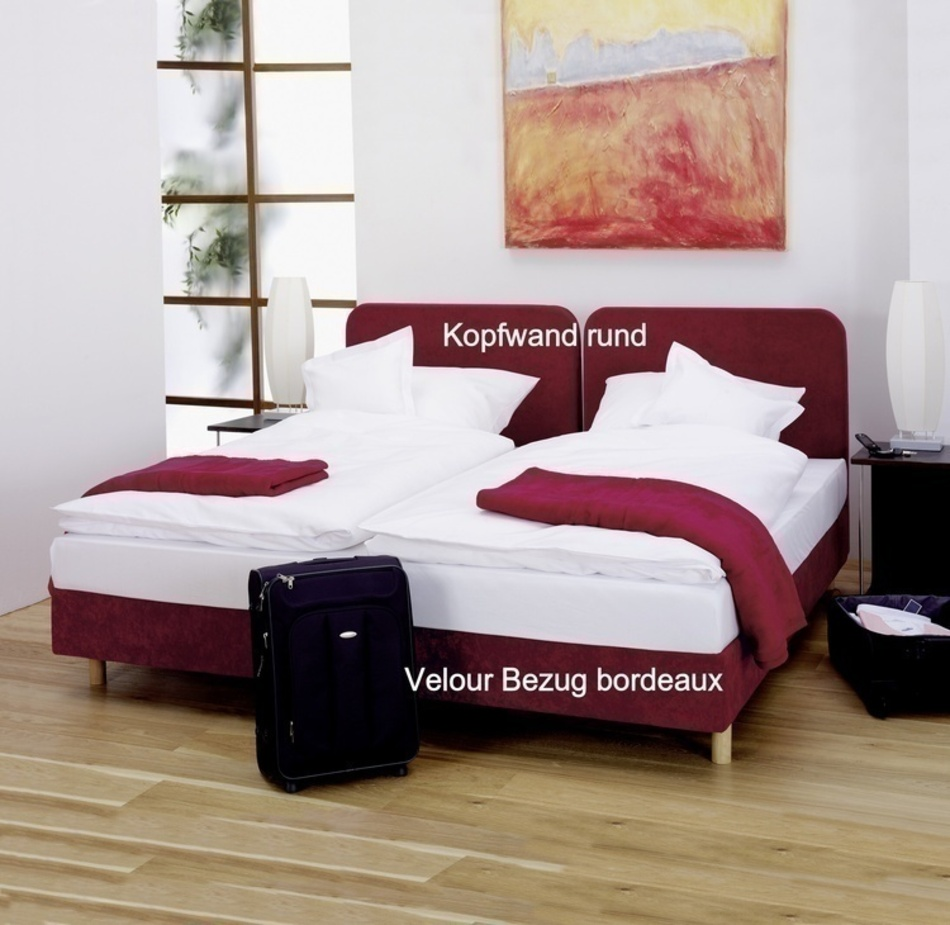 boxspringbetten de luxe v zollner hotelw sche. Black Bedroom Furniture Sets. Home Design Ideas