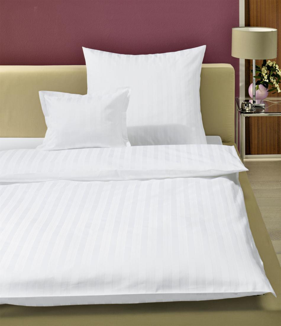 Bettwäsche Weiß Skala Zollner Hotelwäsche