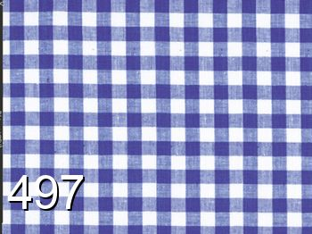 497 - blue-white checked