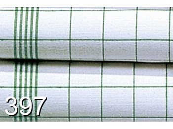 397 - green-white checked