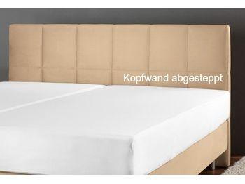 KOPFWAND KUNSTLEDER ABGESTEPPT