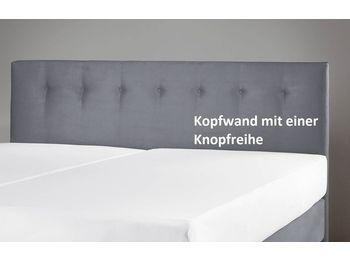 KOPFWAND VELOURS KNÖPFE