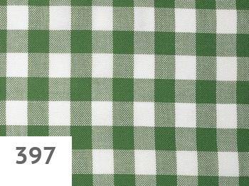 397 - green-white checked
