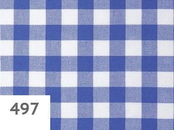 497 - blue-white checked